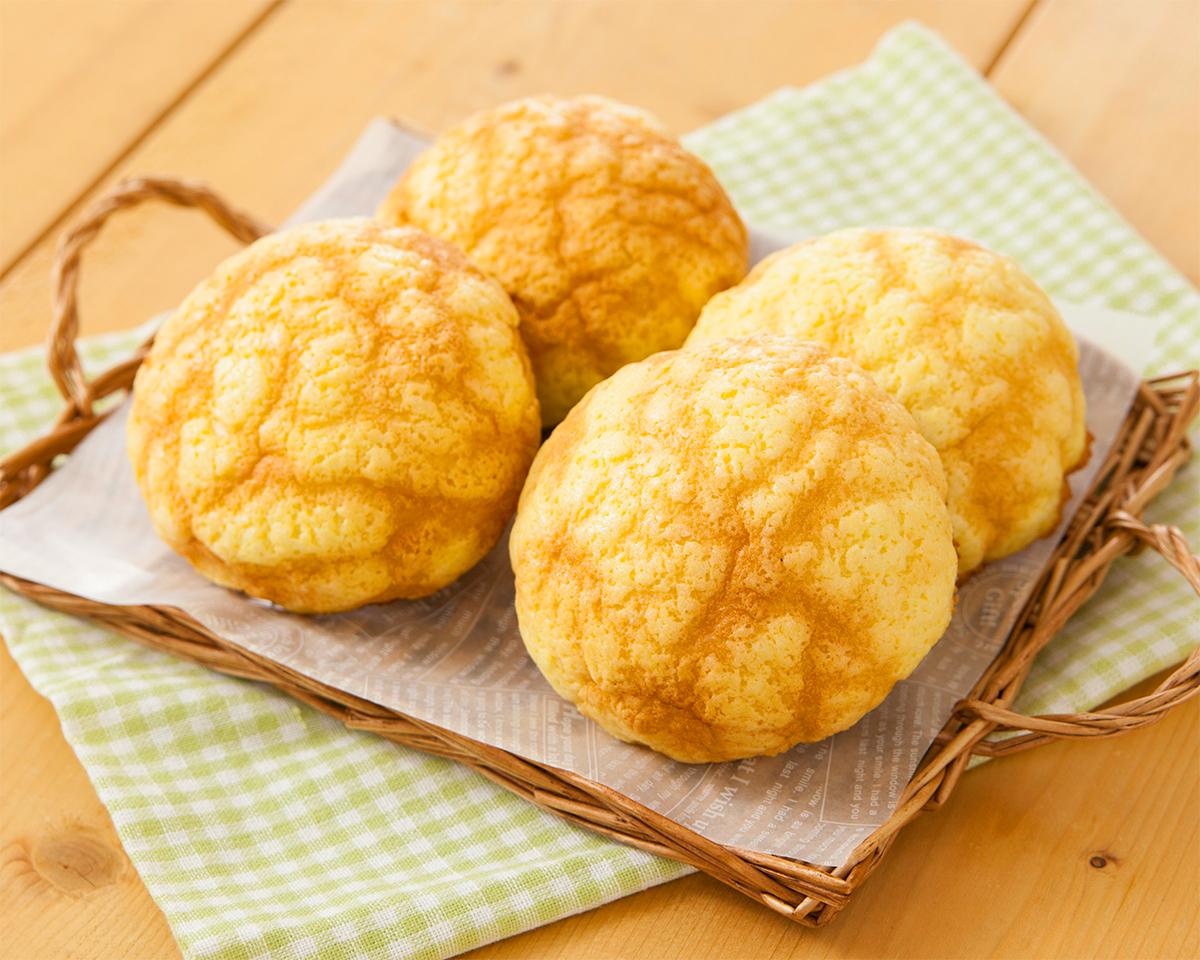焦がしバター風味のメロンパン