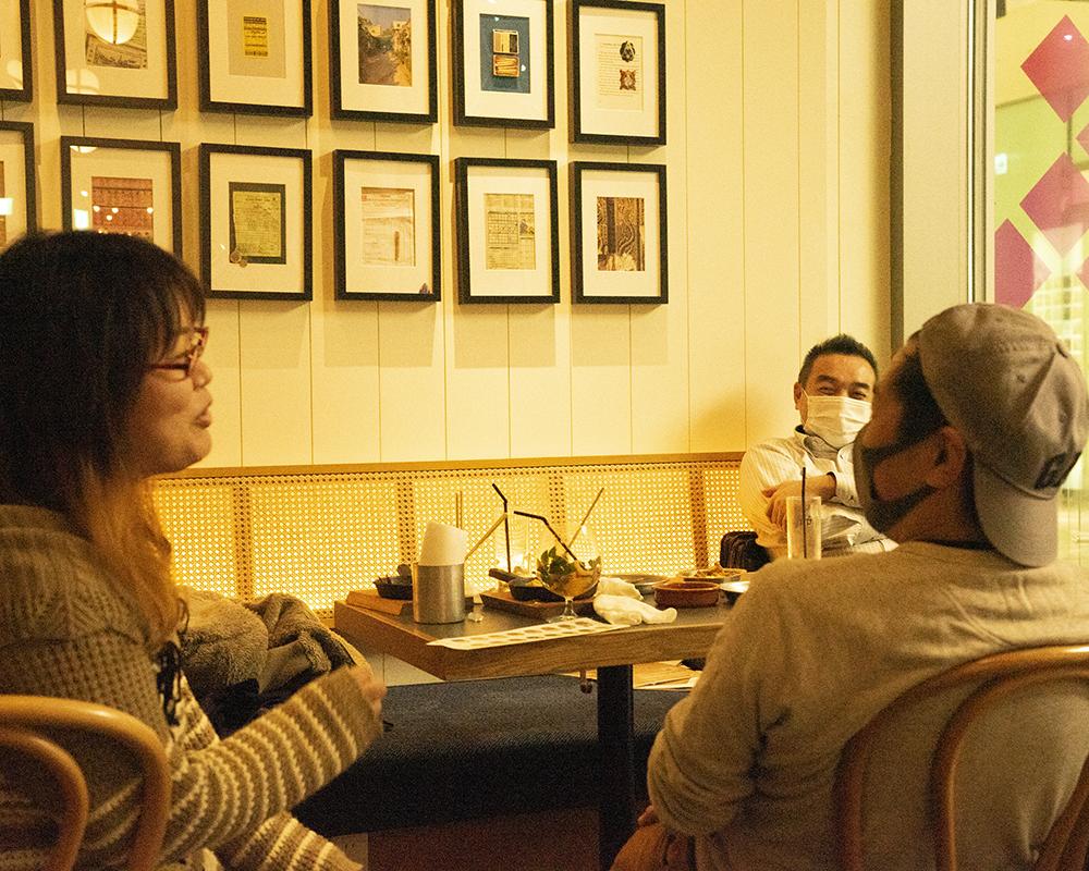 新入社員と店長の交流会-お茶会